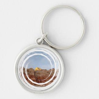 Desert Floor to Ceiling Keychain