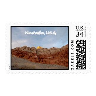 Desert Floor to Ceiling; Nevada Souvenir Postage Stamp