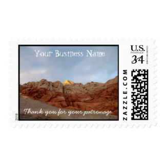 Desert Floor to Ceiling Postage Stamps