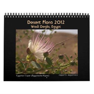 Desert Flora 2012 Calendar
