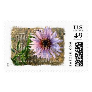 Desert Flower; 2012 Calendar Stamp