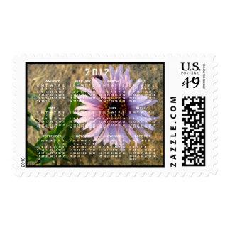 Desert Flower; 2012 Calendar Postage