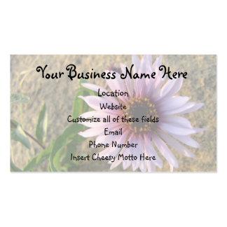 Desert Flower Double-Sided Standard Business Cards (Pack Of 100)