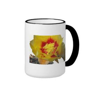 Desert Flower Ringer Mug