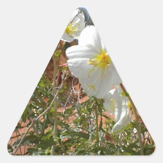 Desert Flower Triangle Sticker
