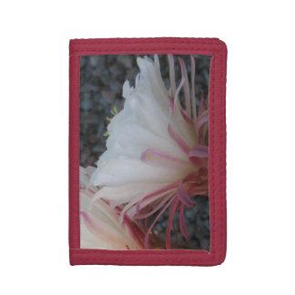 desert flower trifold wallets