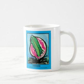 """Desert Flower"" Two by Zermeno Classic White Coffee Mug"