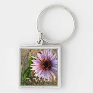 Desert Flower; Yukon Territory Souvenir Keychain