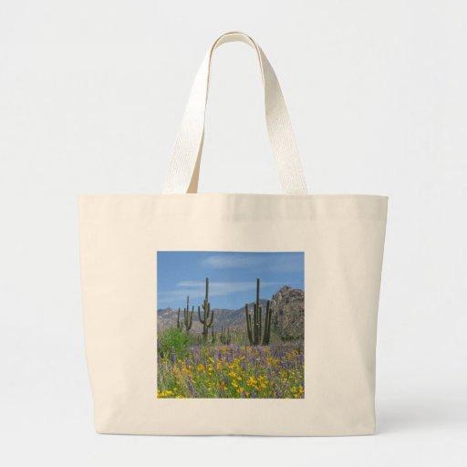 Desert Flowers Jumbo Tote Bag