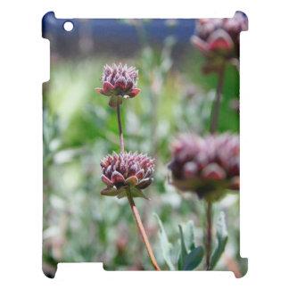Desert flowers (purple) iPad case
