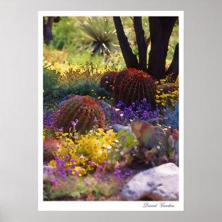Desert Garden, poster