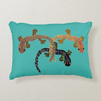 Desert Gecko Decorative Pillow