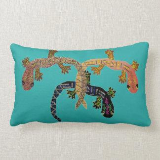 Desert Geckos Pillow