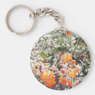 Desert Globemallow Keychain
