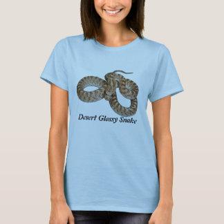 Desert Glossy Snake Ladies Baby Doll T-Shirt