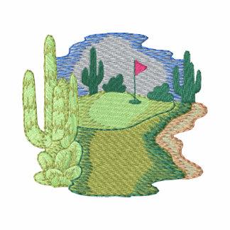 Desert Golf Scene