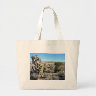 Desert Greenery Canvas Bags