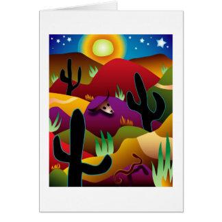 Desert Greeting Cards