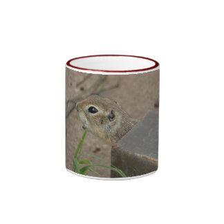Desert Ground Squirrel Animal Motivational Ringer Mug