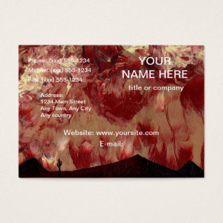 DESERT HEAT ~ (design 2) ~ Business Card