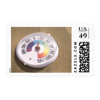 Desert heat stamp