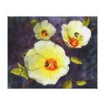 Desert Hibiscus Canvas Print