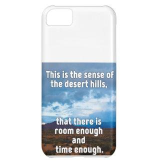 Desert Hills iPhone 5C Case