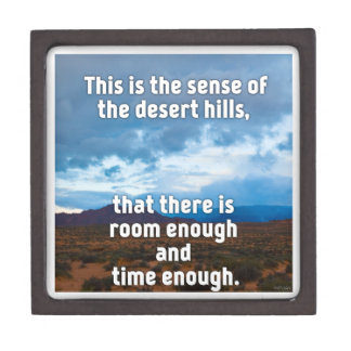 Desert Hills Keepsake Box