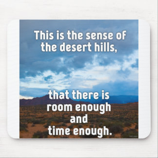 Desert Hills Mouse Pad