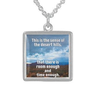 Desert Hills Sterling Silver Necklace