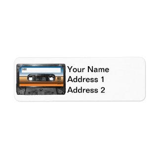 Desert Horizon Label Cassette
