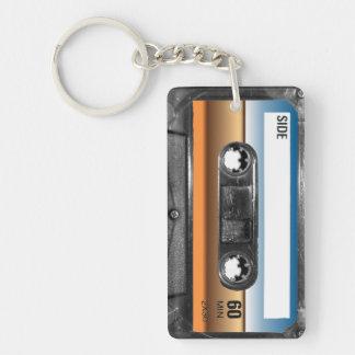 Desert Horizon Label Cassette Keychain