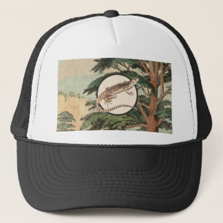 Desert Iguana In Natural Habitat Illustration Trucker Hat