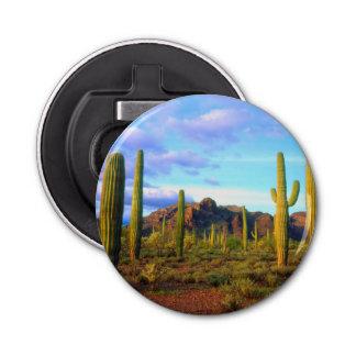 Desert in springtime bottle opener