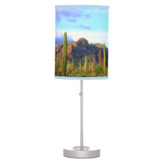 Desert in springtime desk lamp