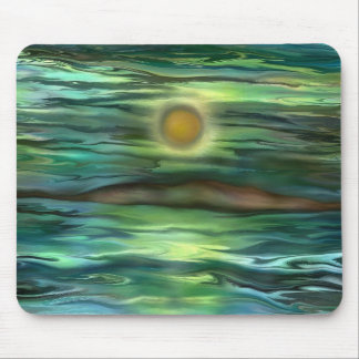 Desert island by rafi talby mouse pad