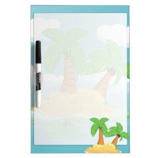 Desert Island Dry Erase Board