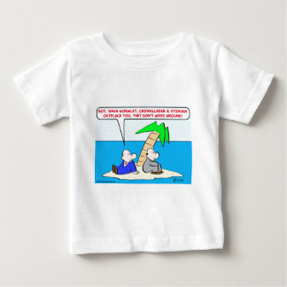 desert isle outsources mess baby T-Shirt