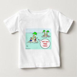 DESERT ISLE TWO TREES BABY T-Shirt