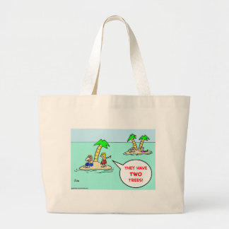 DESERT ISLE TWO TREES BAG