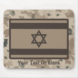 Desert Israeli Flag Mouse Pad