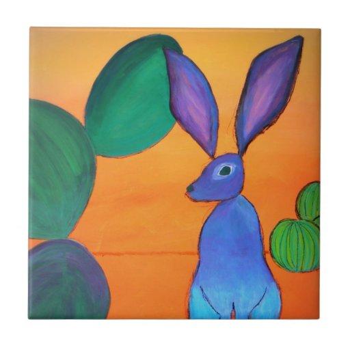 Desert Jack Rabbit Tile