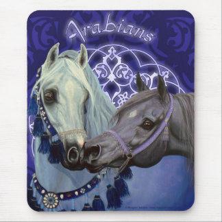 Desert Jewels Arabian horses mousepad