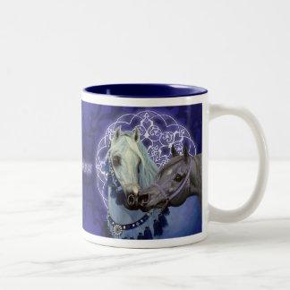 Desert Jewels Arabian horses mug