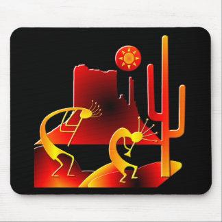 Desert Kokopelli Mousepad