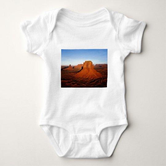 Desert kuvatus baby bodysuit
