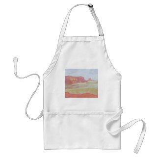 Desert Landscape, Apron