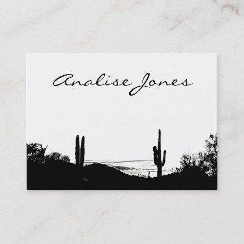 Desert Landscape Business Card