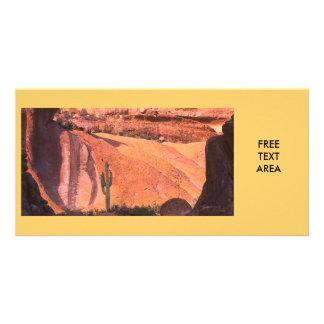 Desert Landscape Card
