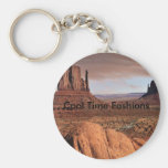 Desert Landscape, Cool Time Fashions Keychains